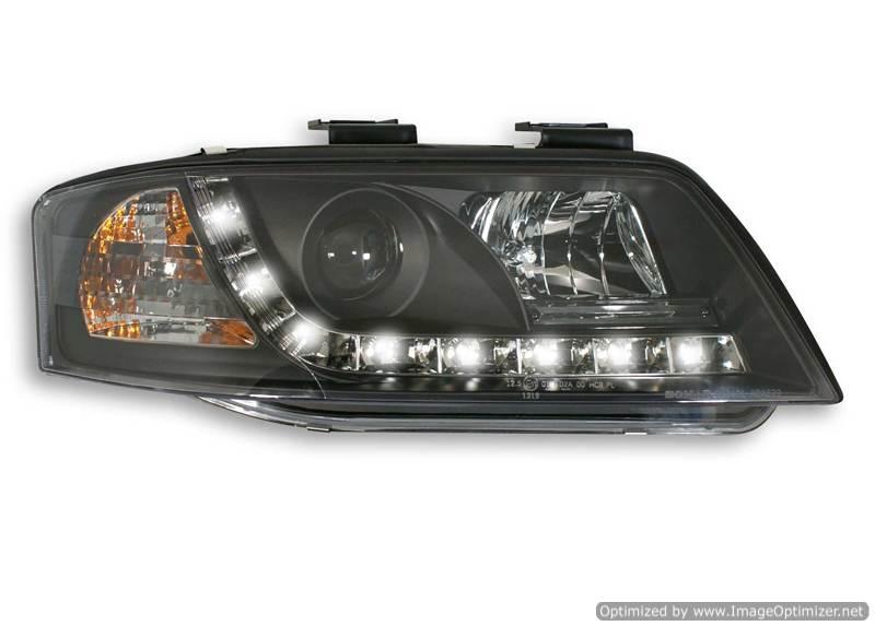 Audi a6 c5 фары светодиодные своими руками 21
